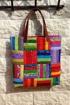 Most current No Cost sewing bags patchwork Ideas Bag - Patchwork - Bag Sewing Pattern, Bag Patterns To Sew, Quilt Patterns, Quilted Purse Patterns, Quilted Tote Bags, Patchwork Bags, Bag Quilt, Creative Bag, Fabric Bags