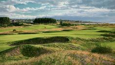 Carnoustie golf course picture By Linda Hartough. Limited Edition http://golfpicture.com/carnoustie-golf-course-picture.html