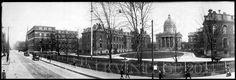 1903+Boston+City+Hospital,+Vintage+Panoramic+Photograph+Panorama