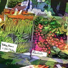 Food Illustration by Lauren Brading, via Behance on linkedin