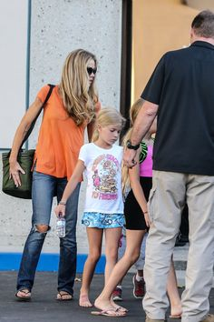 Denise Richards & Kids: Gym Time