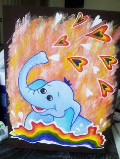 Nursery Art Kids Wall Art Children Wall Art ORIGINAL by DooDooArt, $75.00