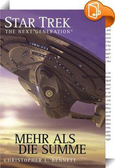 Star Trek - The Next Generation 05: Mehr als die Summe    ::  Das Raumschiff Rhea hat einen Cluster von Karbonplaneten entdeckt, der die Quelle der Quantenenergien zu sein scheint, die einen Abschnitt des Weltalls durchfluten. Ein Landetrupp findet auf einem der Planeten ungewöhnliche Lebensformen. Einer der Offiziere, Lieutenant T'Ryssa Chen - eine Halbvulkanierin -, kann einen schwachen Kontakt zu ihnen herstellen. Aber bevor Fortschritte gemacht werden können, wird die Rhea von der ...