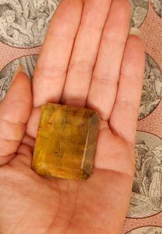 Genuine YELLOW BERYL  Genuine Earth-mined Yellow by esoTERRAca