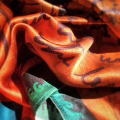 József Attila Collection for GSFW Budapest 2016 > designed by Agnes Friedrich & Georg Andreas Suhr for George by cocccon > non violence silk scarves > in cooperation with the National … Silk Scarves, Sustainable Fashion, Budapest, Collection, Design, Attila, Design Comics