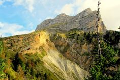 trekking de bernard: Rouge et noir : belle Chartreuse d'automne
