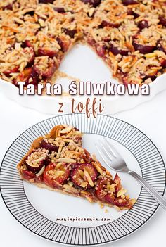Tarta śliwkowa z toffi / Plum and Toffee Tart