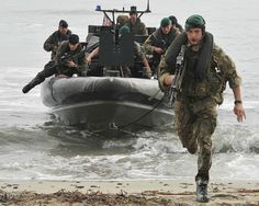 Images captured are of Second Infantry Regiment of the French Marine Corps as they conduct a WADER training package on the French Island of Corsica. The exercise saw British Marines from 3 Commando Brigade Royal Marines, train alongside their French counterparts in amphibious landing techniques from British craft.