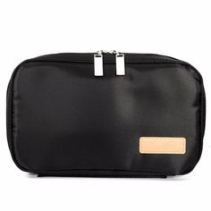 Color: Black Weight: App 217g Size: App 27* 4* 16cm   Package Included:   1 X Makeup Bag   (Cosmetic are not included)      Note:  1. The real color of the item may be slightly different from the pictures shown on website caused by many factors such as brightness of your monitor  and light brightness. 2. Please allow slight deviation for the measurement data.