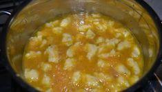 Mrkvová polievka s haluškami Cheeseburger Chowder, Soup, Soups