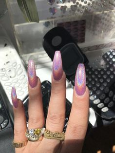 Nail art Christmas - the festive spirit on the nails. Over 70 creative ideas and tutorials - My Nails Summer Acrylic Nails, Best Acrylic Nails, Acrylic Nail Designs, Summer Nails, Nails Kylie Jenner, Coffin Nails Designs Kylie Jenner, Gel Nails At Home, Pin On, Short Nail Designs
