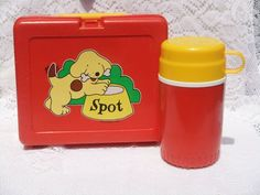 Spot the Dog Vintage RARE 1985 Lunchbox
