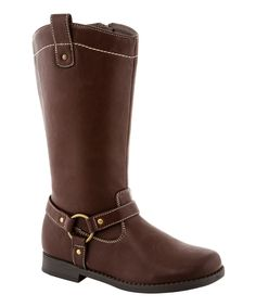 This Brown Aida Boot by COCO Jumbo is perfect! #zulilyfinds