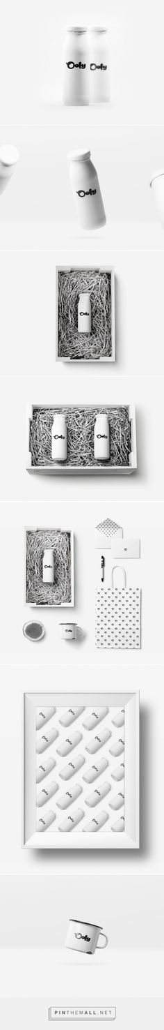 Qoly Milk Concept minimalist packaging designed by Kichuk Iliachuk Iliaia - http://www.packagingoftheworld.com/2015/07/qoly-milk-concept.html