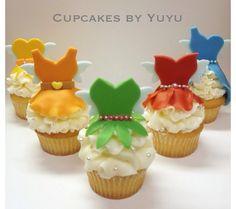 Disney inspired cupcakes