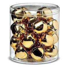 Sugar Paper Gold Bells Decoration Christmas