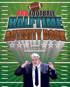 Pro Football Halftime Activity Book  http://sportsbettingarbitrage.in