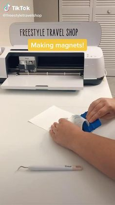 How To Make Magnets, Smart Materials, Cricut Explore Air, Amazon Art, Sewing Stores, Sewing Crafts, Vinyl Projects, Cricut Ideas, Travel