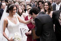 O encontro dos noivos ( Foto: Fernanda Scott )