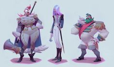 ArtStation - Blue Rose Team, Sasha Tudvaseva