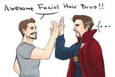 dchanberry:Iron man & dr.strange