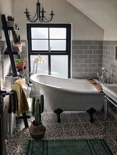 An Irish house with dark walls - PLANETE DECO a homes world Decor decor apartment decor budget decor diy decor ideas decor palets home decor home decor Bad Inspiration, Bathroom Inspiration, Bathroom Ideas, Bathroom Designs, Bathroom Renovations, Decorating Bathrooms, Bathroom Stuff, Bathroom Things, Pinterest Inspiration