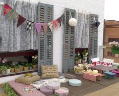 Resultado de imagen de decorar terraza tipo chill out muy barata
