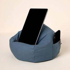 Tablet Holder, Cool Gadgets, Floor Chair, Bean Bag Chair, Beanbag Chair, Cool Tech Gadgets, Cool Tools, Bean Bag, Cool Electronics