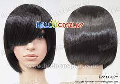 Black Bobo Cosplay Short Wig