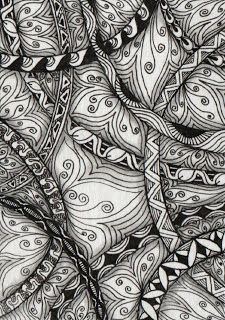 Creative Doodling with Judy West: Artist Trading Cards Tangle Doodle, Doodles Zentangles, Zen Doodle, Zentangle Patterns, Doodle Art, Doodle Ideas, Pattern Coloring Pages, Doodle Drawings, Zentangle Drawings