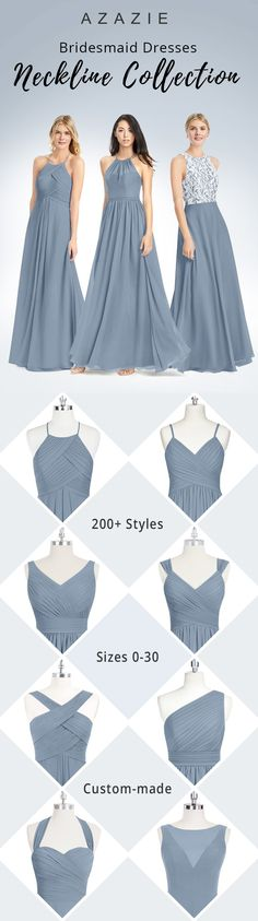 100+ gorgeous bridesmaid dresses your girls are going to love you for. With free custom sizing, every girl will be able to find a dress that fits their body type perfectly. Choose from over 50 colors- wedding planning has never been easier.