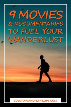 There's nothing like a good wanderlust movie to inspire you to travel the world. These are our nine favorites that are sure to spark spark your desire to travel! Wanderlust Travel, Round The World Trip, Travel Movies, Travel And Tourism, Travel Destinations, And So The Adventure Begins, Ultimate Travel, Travel Inspiration, Home Decor