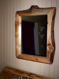Lighthouse Bathroom Decor | Custom Rustic Cedar Bathroom Accessories | Custom Wood Furniture ...