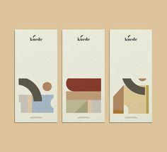 keude branding design on Behance Layout Design, Web Design, Graphic Design Layouts, Graphic Design Branding, Graphic Design Posters, Label Design, Brochure Design, Print Design, Logo Design