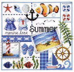 Buy+Four+Seasons+Summer+Chart+Booklet+Online+at+www.sewandso.co.uk
