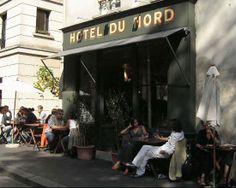 Hôtel du Nord, restaurante a la ribera del Canal St Martin, París | DolceCity.com