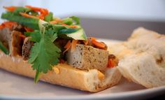 """A Tofu Recipe That Will Shatter Anti-Tofu Prejudice, Once and for All""--this vegetarian banh mi recipe looks really good, and if the tofu preparation is as tasty as it sounds, I might have to use it for other dishes as well."