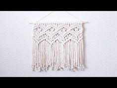 Macramé Wall Hanging Butterfly Tutorial by Macrame School - YouTube