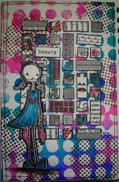 Yvonne's ART: Stampotique challenge