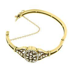 Vintage Pearl & Diamond Bracelet