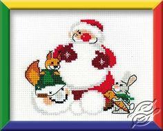 Snowman - Cross Stitch Kits by RIOLIS - 1055