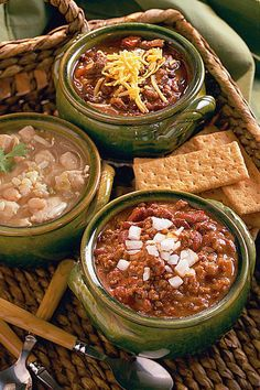 40 Ground Beef Recipes | Red Bean Chili #beef #recipes #easy #dinner #meals #2019 #SouthernLiving