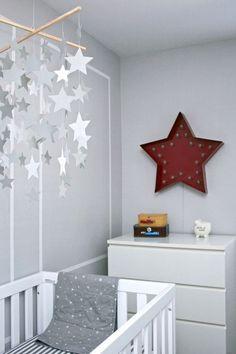 Star Gazing Themed Baby Boy Nursery at | http://cutebabygallery.blogspot.com