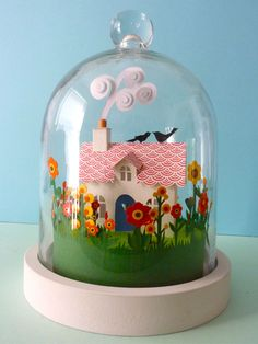 Happy House by Helen Musselwhite via Etsy.