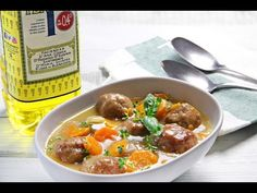 Albóndigas a la cerveza. Déjate sorprender por sabor de nuestra #receta de carne. Un guiso sano con #aceitedeoliva.