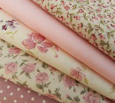 Pretty cottage style fabrics.