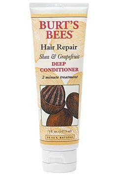 Burt's Bees Hair Repair Shea & Grapefruit Deep Conditioner, $8, available at Burt's Bees.