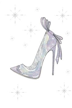 Disney Asked 9 Designers To Create Their Version Of Cinderella's Glass Slipper #refinery29  http://www.refinery29.com/cinderella-slipper-fashion-designers#slide-3  Of course Nicholas Kirkwood would play around with color.