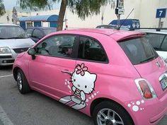 itty bitty kitty car