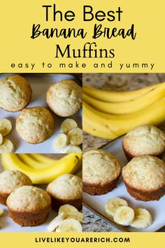 This Easy Banana Bread Muffins are incredibly moist, easy to make and yummy perfect for breakfast and snacks. #muffins #bananabreadmuffins